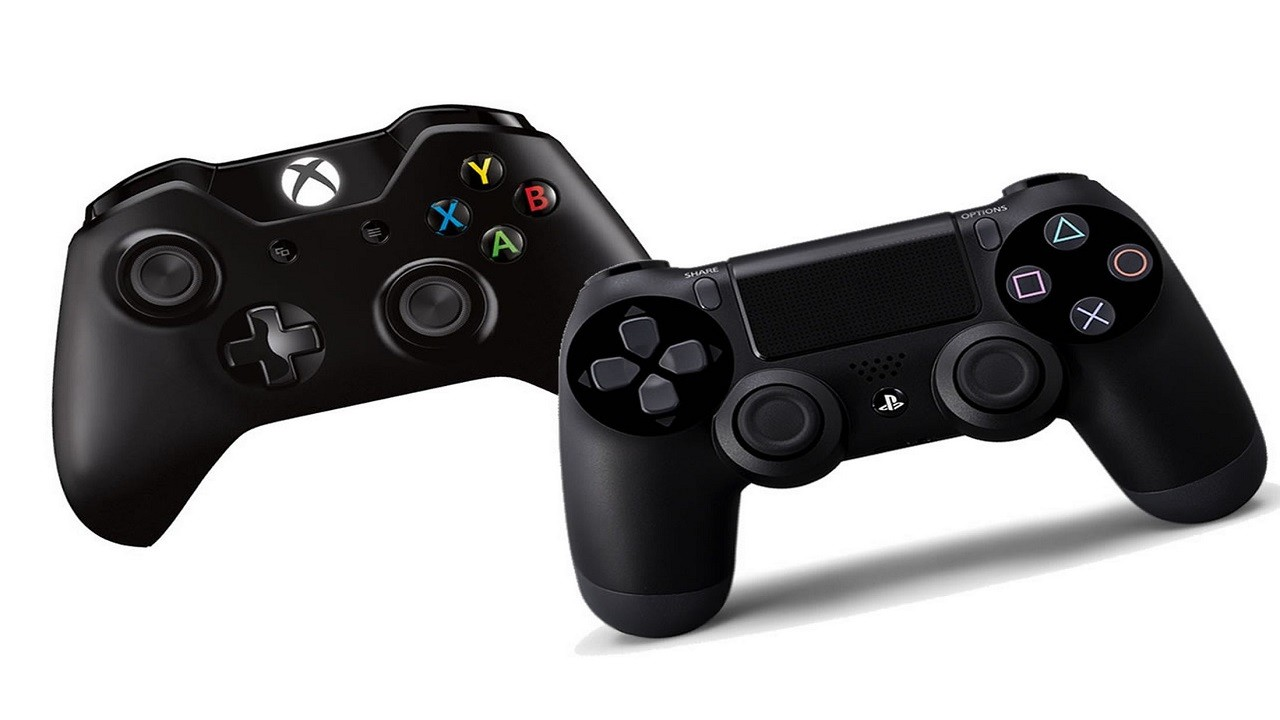 PS4 en Xbox One Controllers