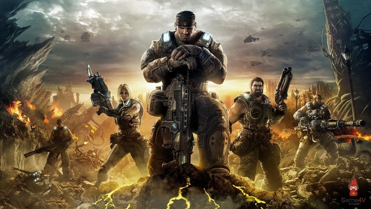 Gears of War 3 - Pixel Vault