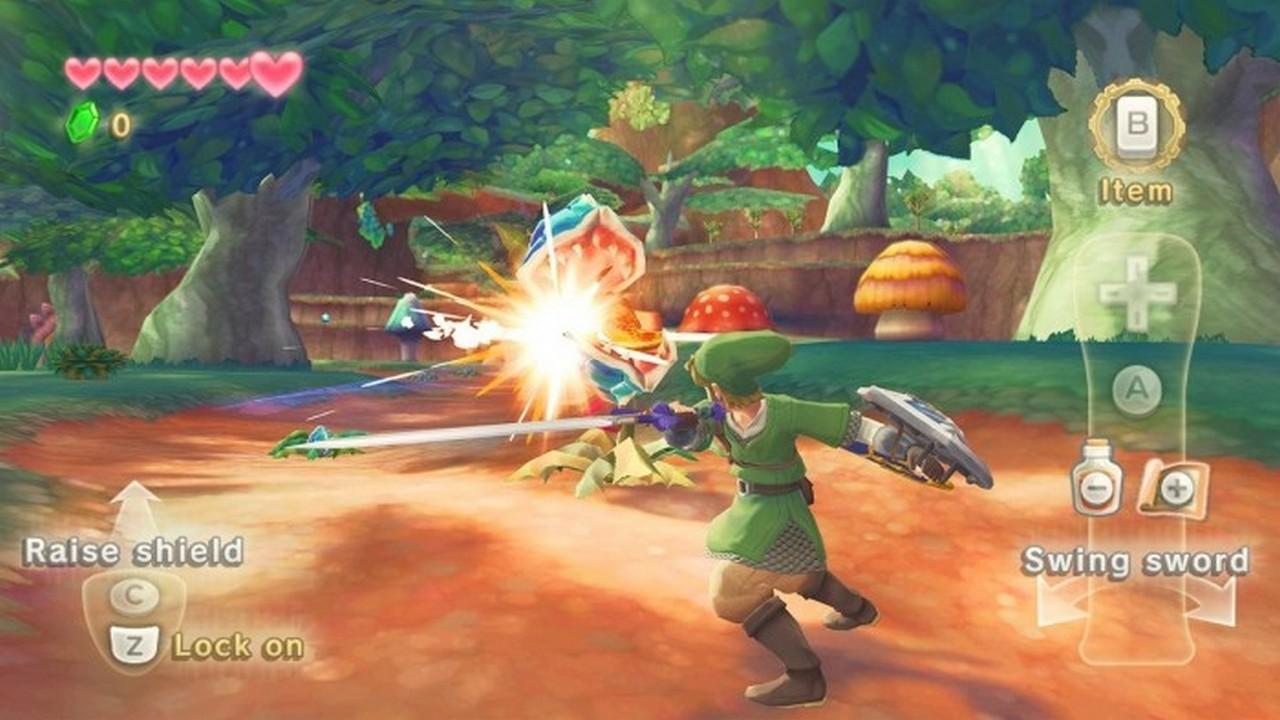 The Legend of Zelda: Skyward Sword   Pixel Vault