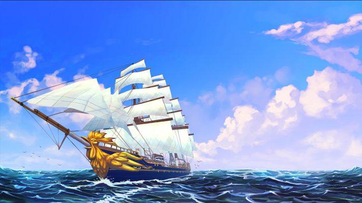 Herald op zee