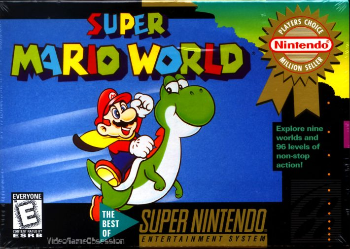 Super Mario World | Pixel Vault