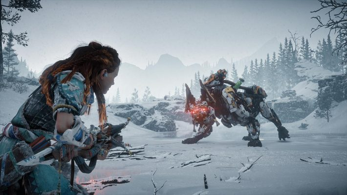 Horizon Zero Dawn: The Frozen Wilds | Pixel Vault