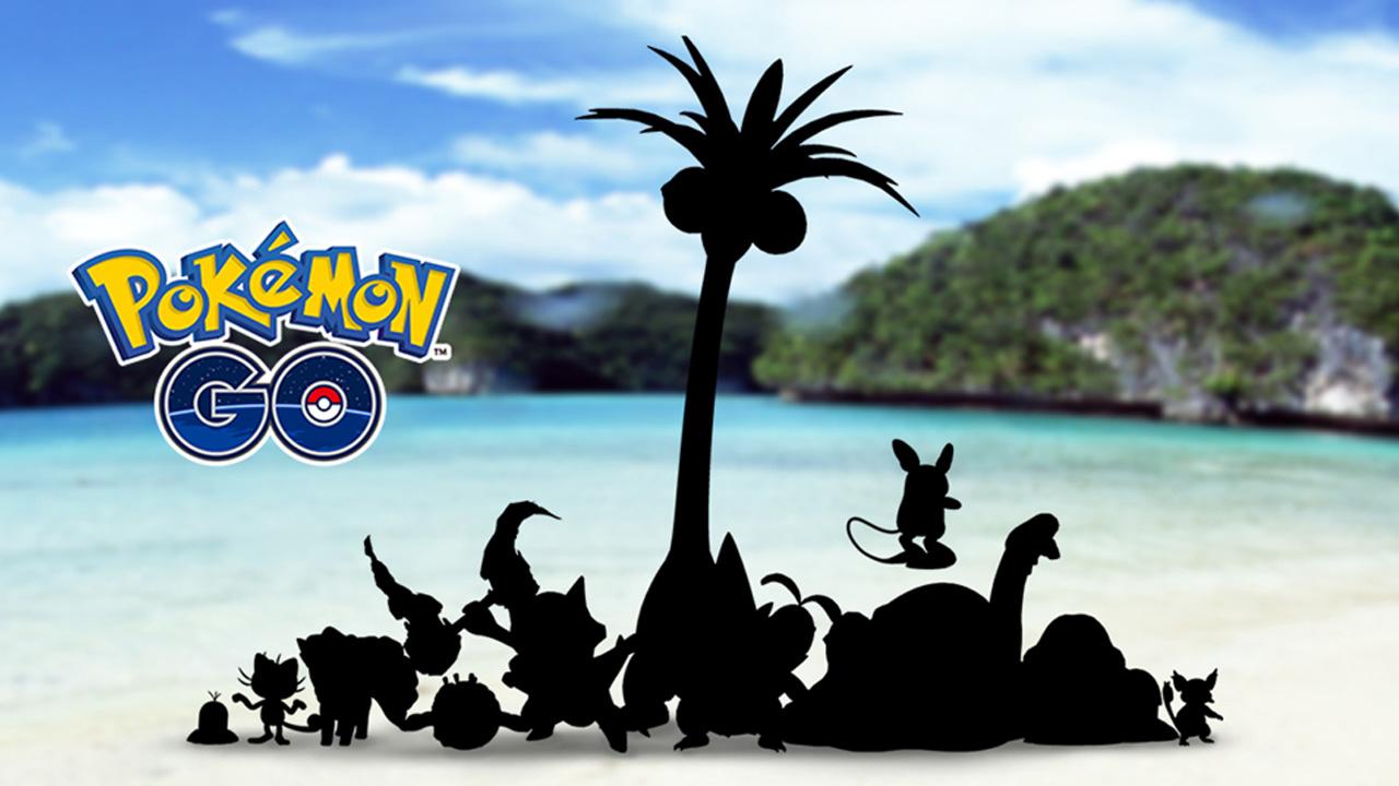 Pokémon Go Alolan Forms