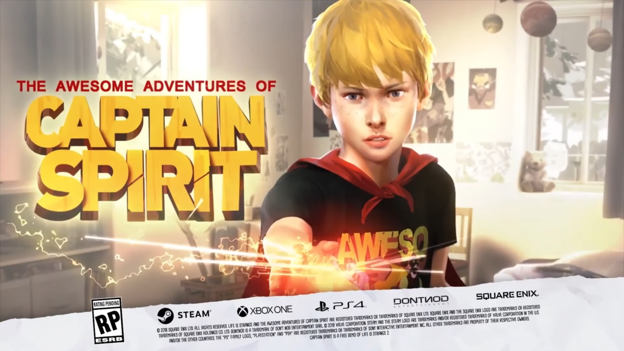 The Awesome Adventures of Captain Spirit | Pixel Vault