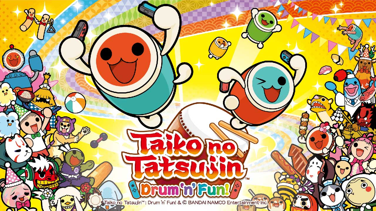 Taiko no Tatsujin: Drum 'n' Fun | Pixel Vault