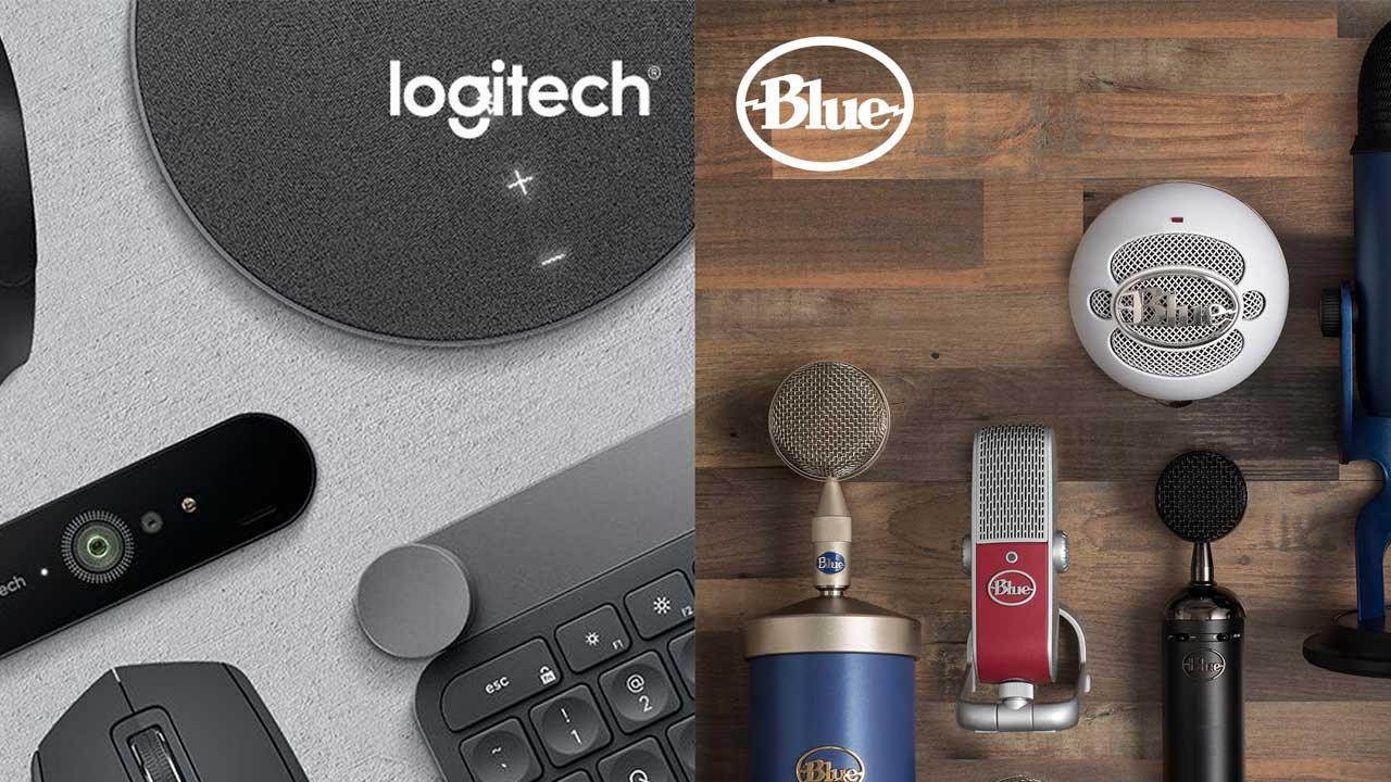 Logitech Blue | Pixel Vault
