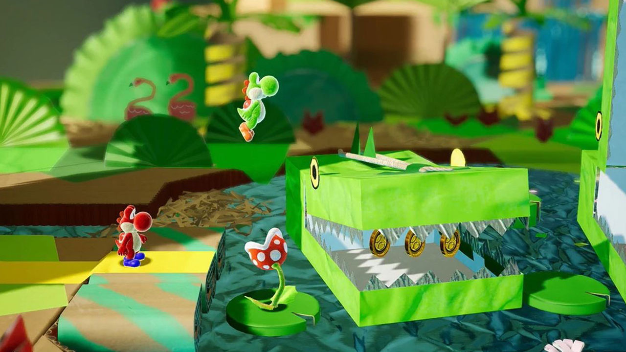 Yoshi's Crafted World | Pixel Vault
