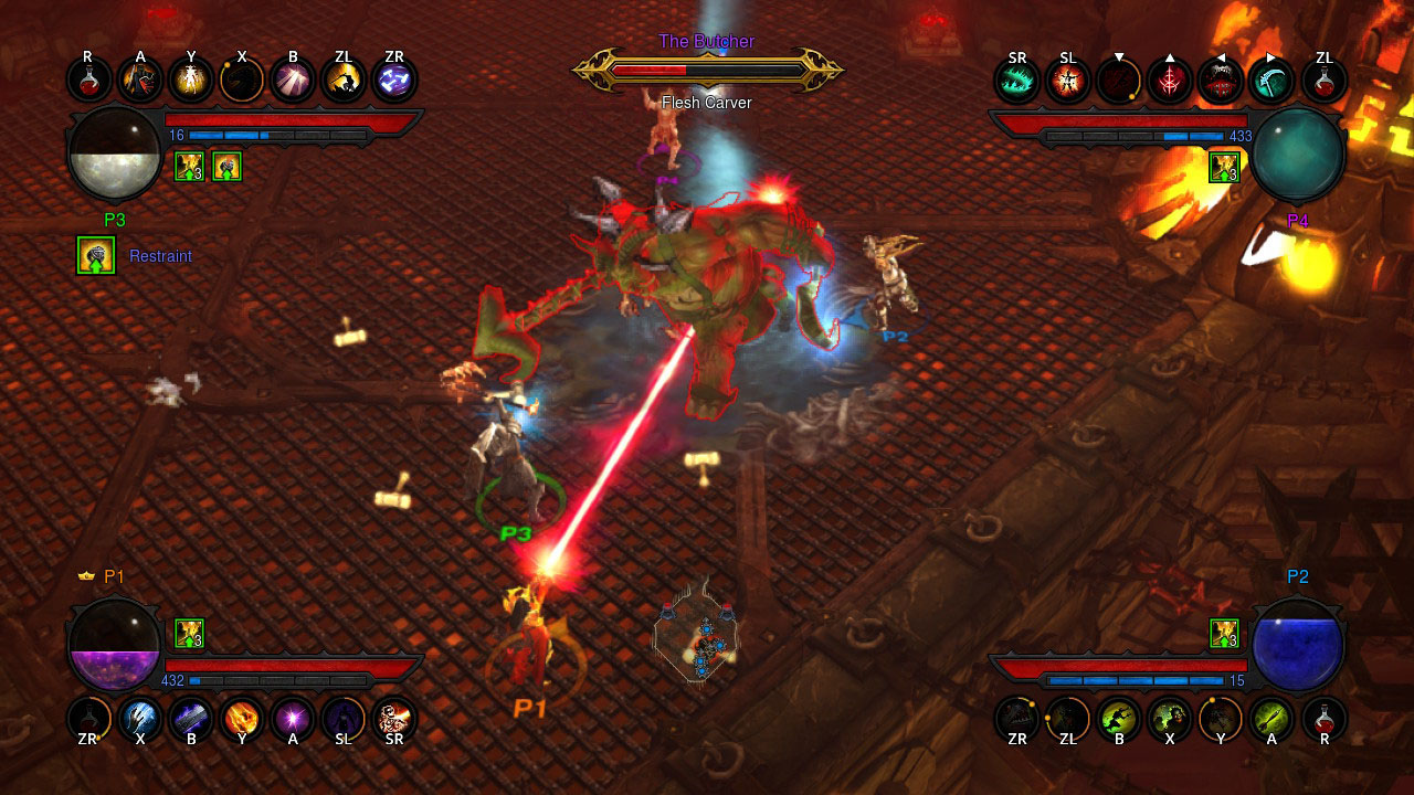 Diablo 3 Switch | Pixel Vault
