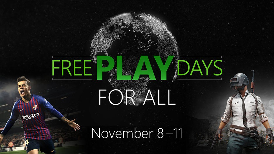 Free Play Days For All november | Pixel Vault