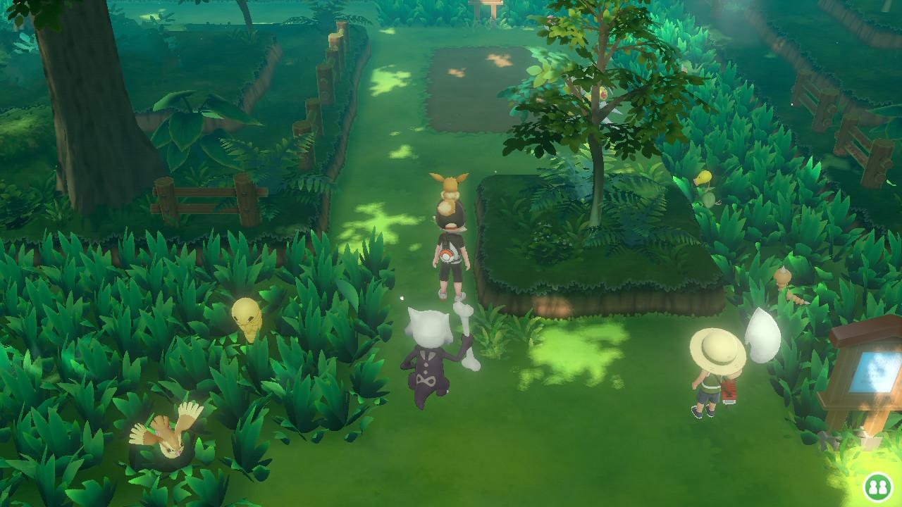 Pokémon Let's Go Pikachu Eevee Viridian Forest | Pixel Vault