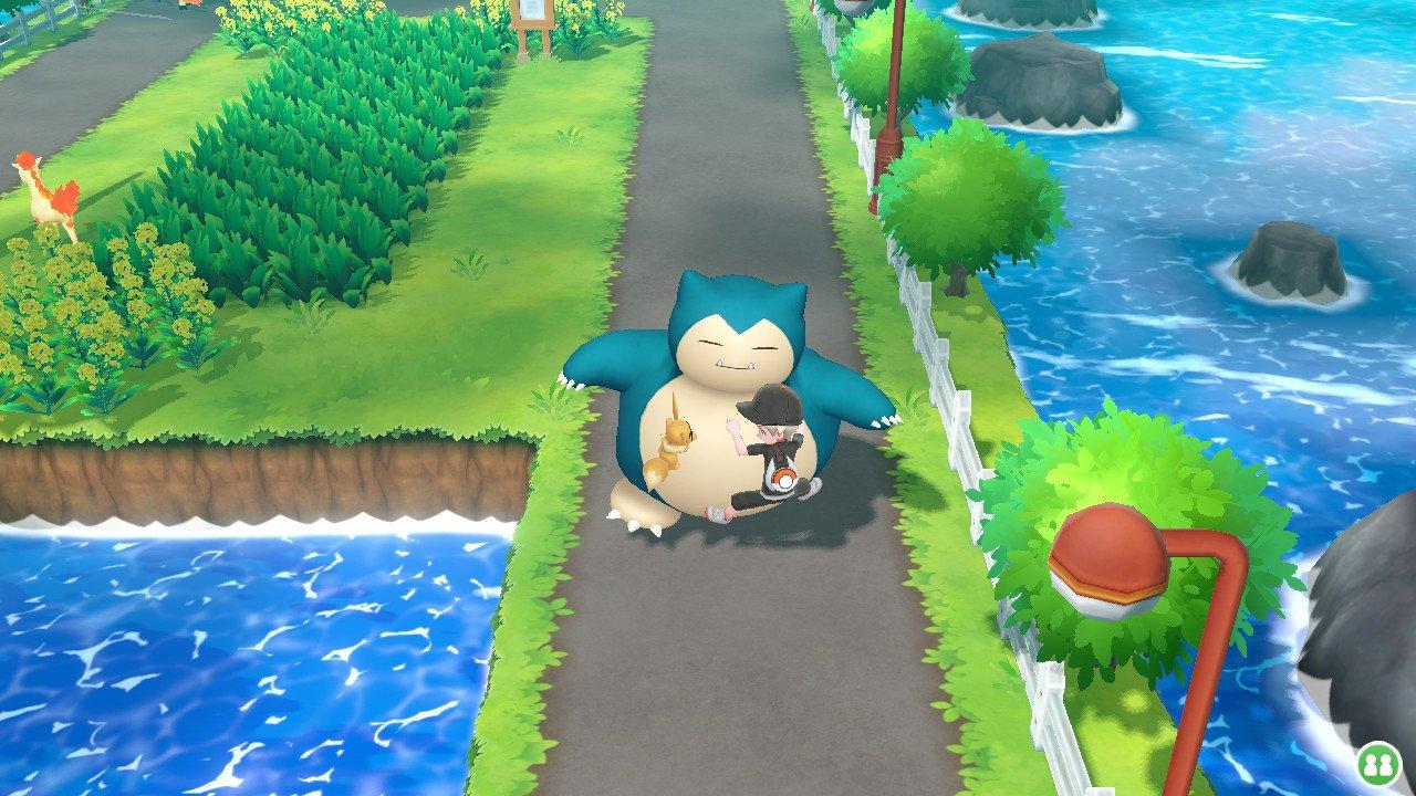 Pokémon Let's Go Pikachu Eevee Snorlax | Pixel Vault