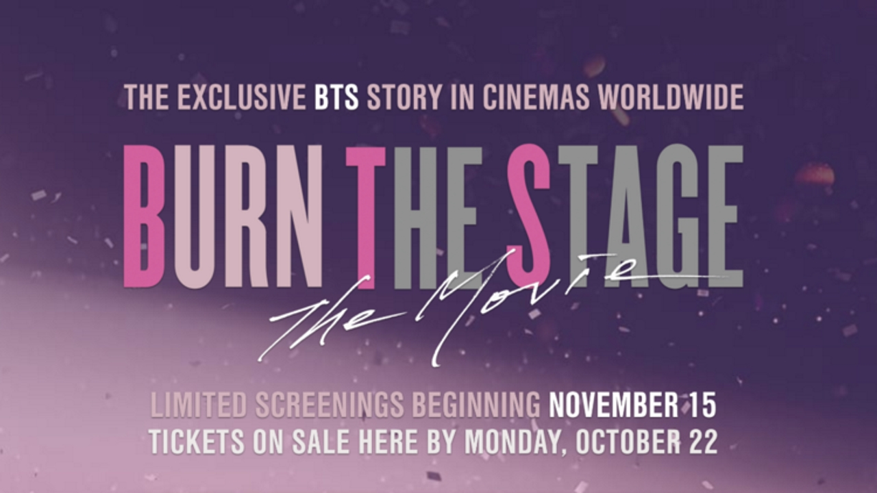 BTS Burn the Stage: The Movie | Pixel Vault