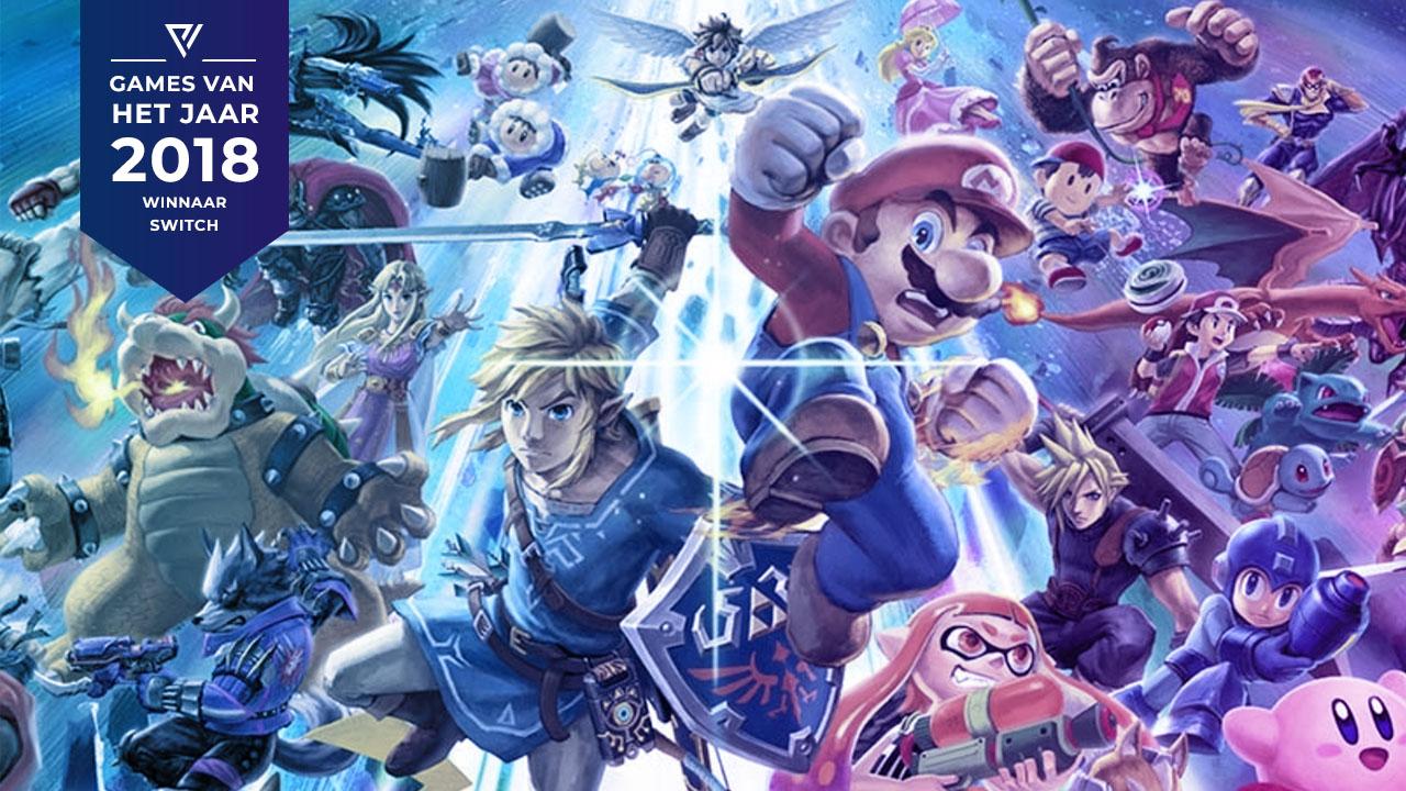 Super Smash Bros. Ultimate - Game van het jaar 2018