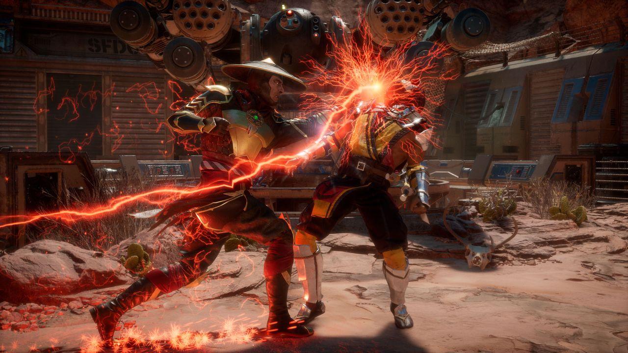 Mortal Kombat 11 Dark Raiden 2 | Pixel Vault