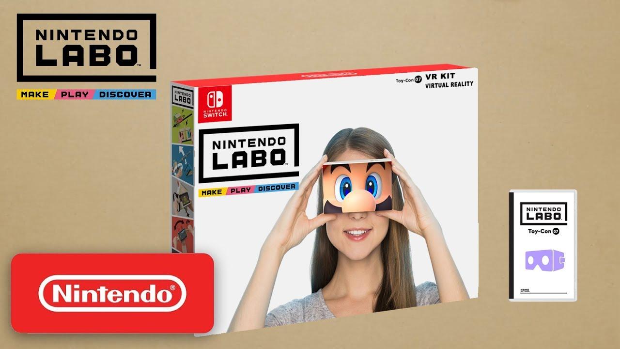 Nintendo Labo VR | Pixel Vault