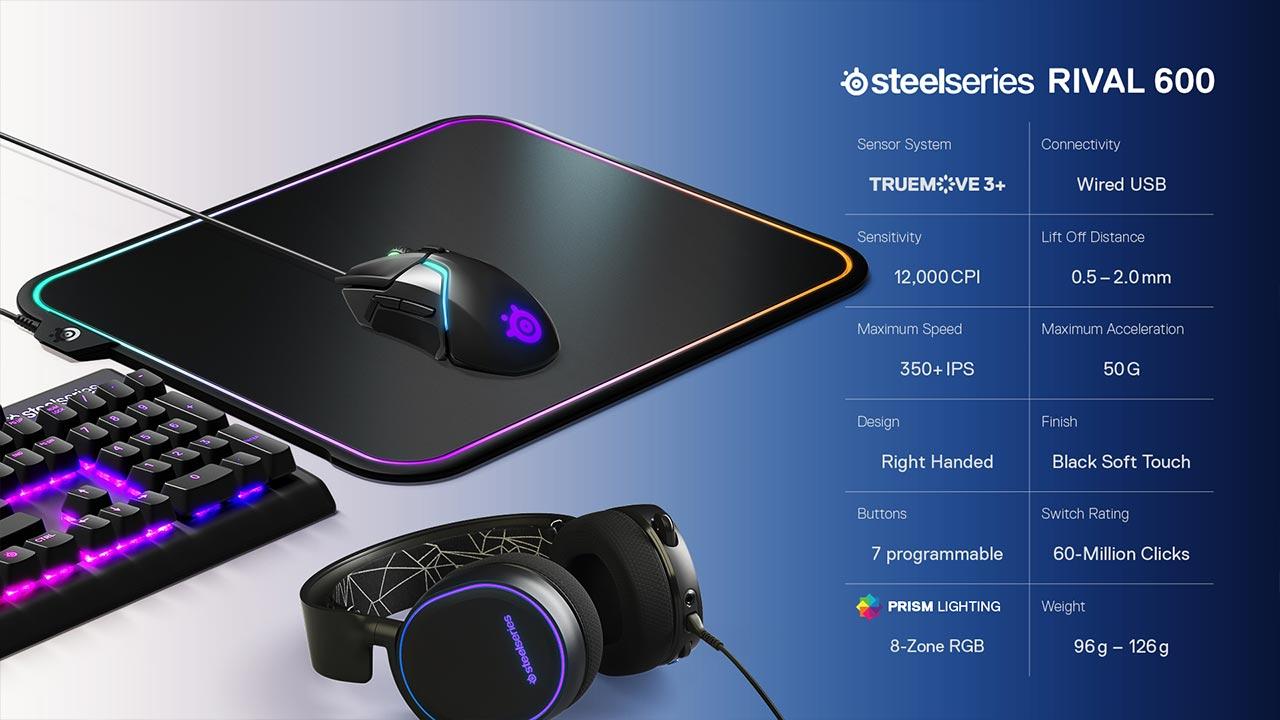 SteelSeries Rival 600 | Pixel Vault