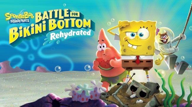 SpongeBob SquarePants: Battle for Bikini Bottom - Rehydrated   Pixel Vault