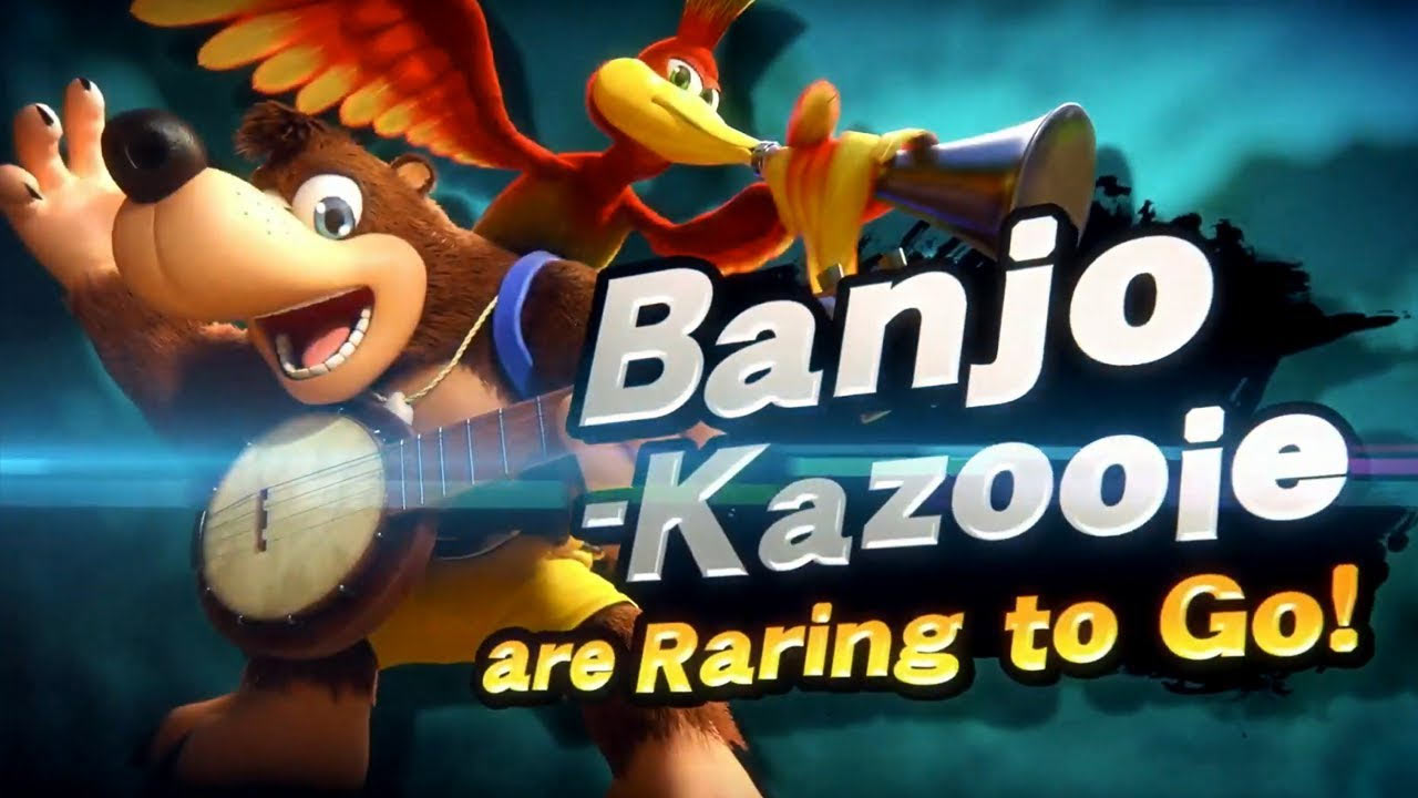 Banjo & Kazooie - Super Smash Bros. Ultimate | Pixel Vault