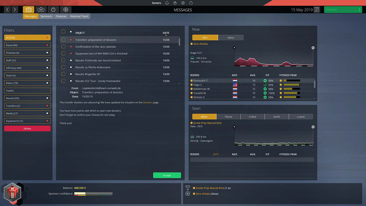 Pro Cycling Manager 2019 | Pixel Vault