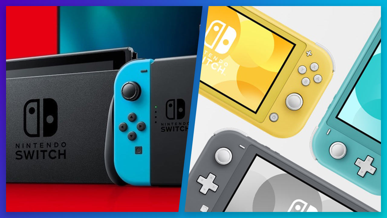 Nintendo Switch vs. Nintendo Switch Lite | Pixel Vault