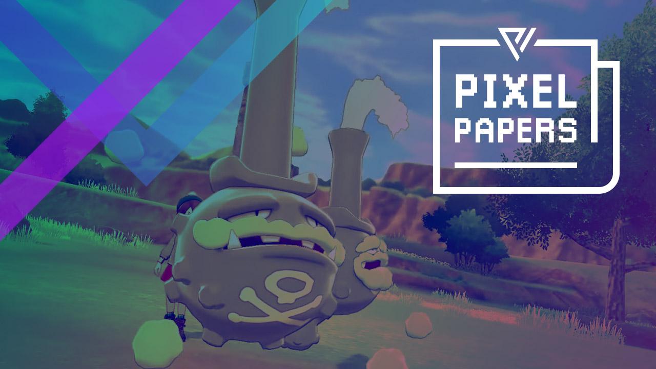 Pixel Papers Weezing | Pixel Vault